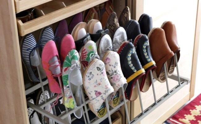 Правила межсезонного хранения обуви